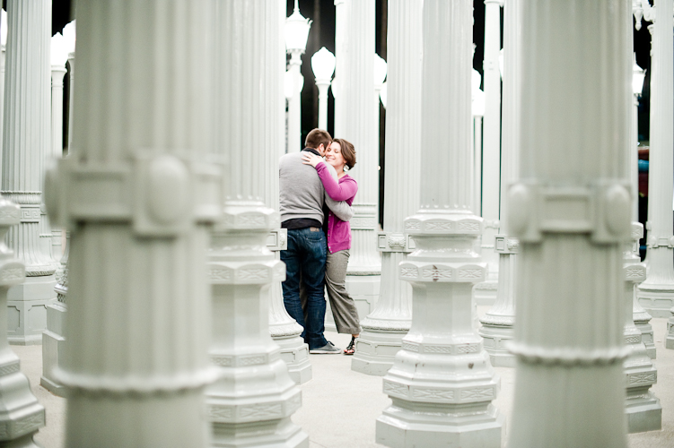 engagement in los angeles by seattle wedding photographer meloidia