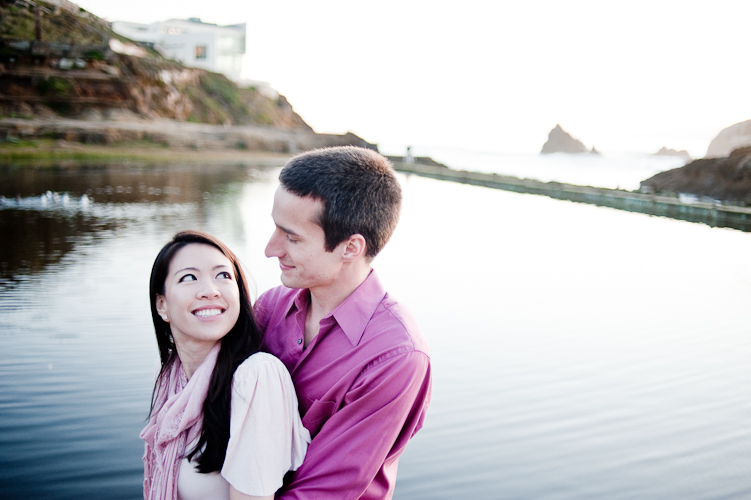 engagement in san francisco by seattle wedding photographer meloidia
